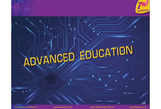 Atlas of the Perfect Education System Chapter 9: Advanced Education